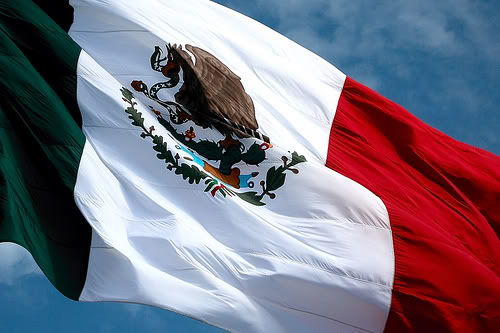 Mexico celebrates its Flag's day
