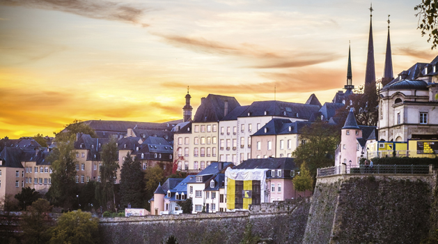 Vianden, a fairytale town