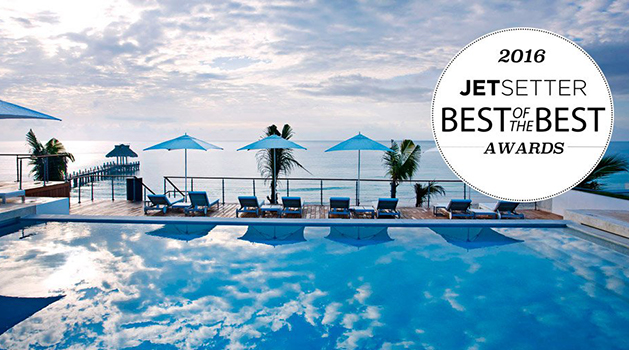 "Blue Diamond Riviera Maya wins 2016 Jetsetter ""Best of the Best"" Award"