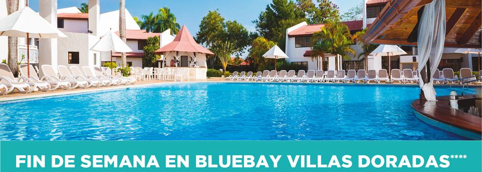 Sorteo fin de semana en BLUEBAY VILLAS DORADAS****