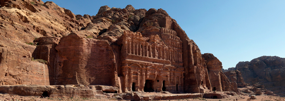 Petra, the city sculpted on its name