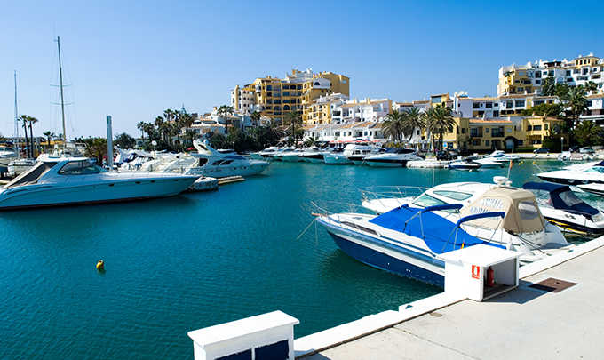 The history of Marbella