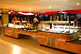 Buffet at the BelleVue Playa Caleta Hotel in Cuba